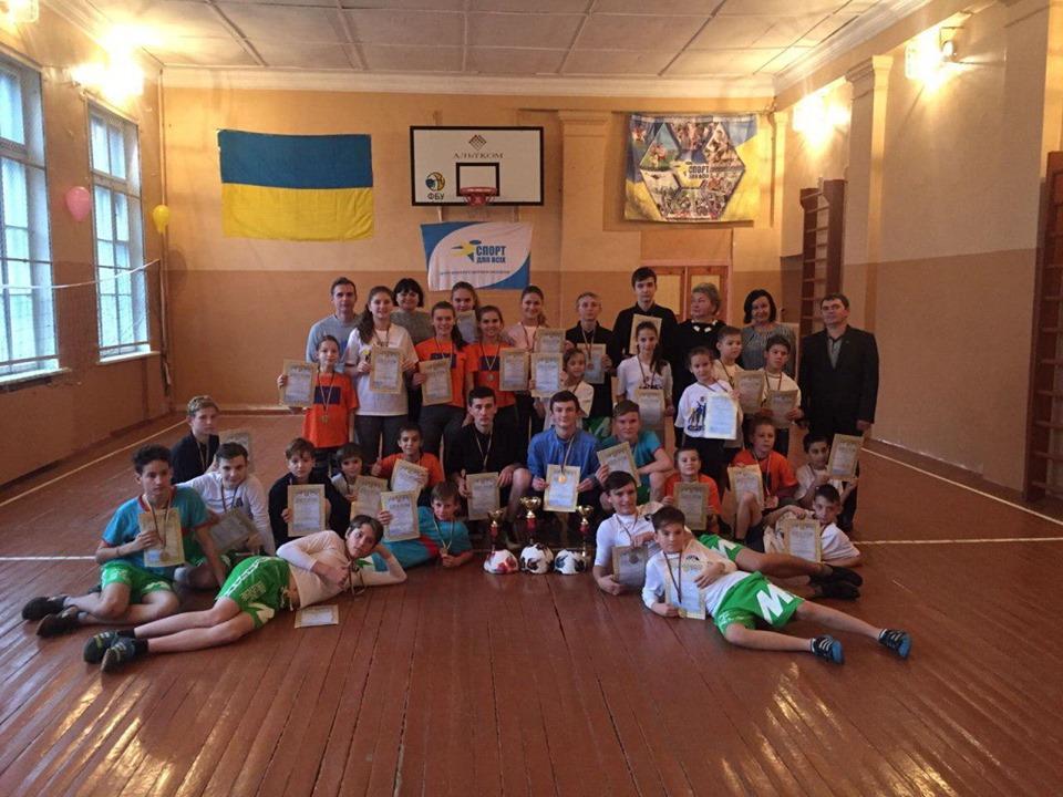 Спортивні уроки на Київщині. Фото