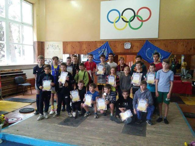Чемпіонат Чернігова з важкої атлетики. Фото