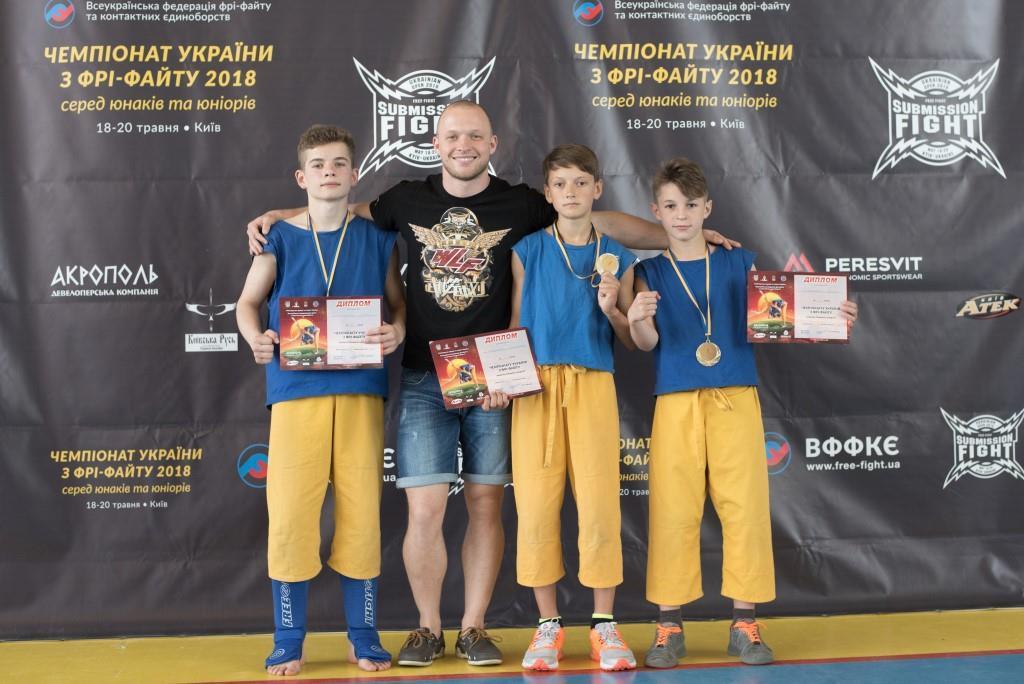 Чемпіонат України з фрі-файту. Фото