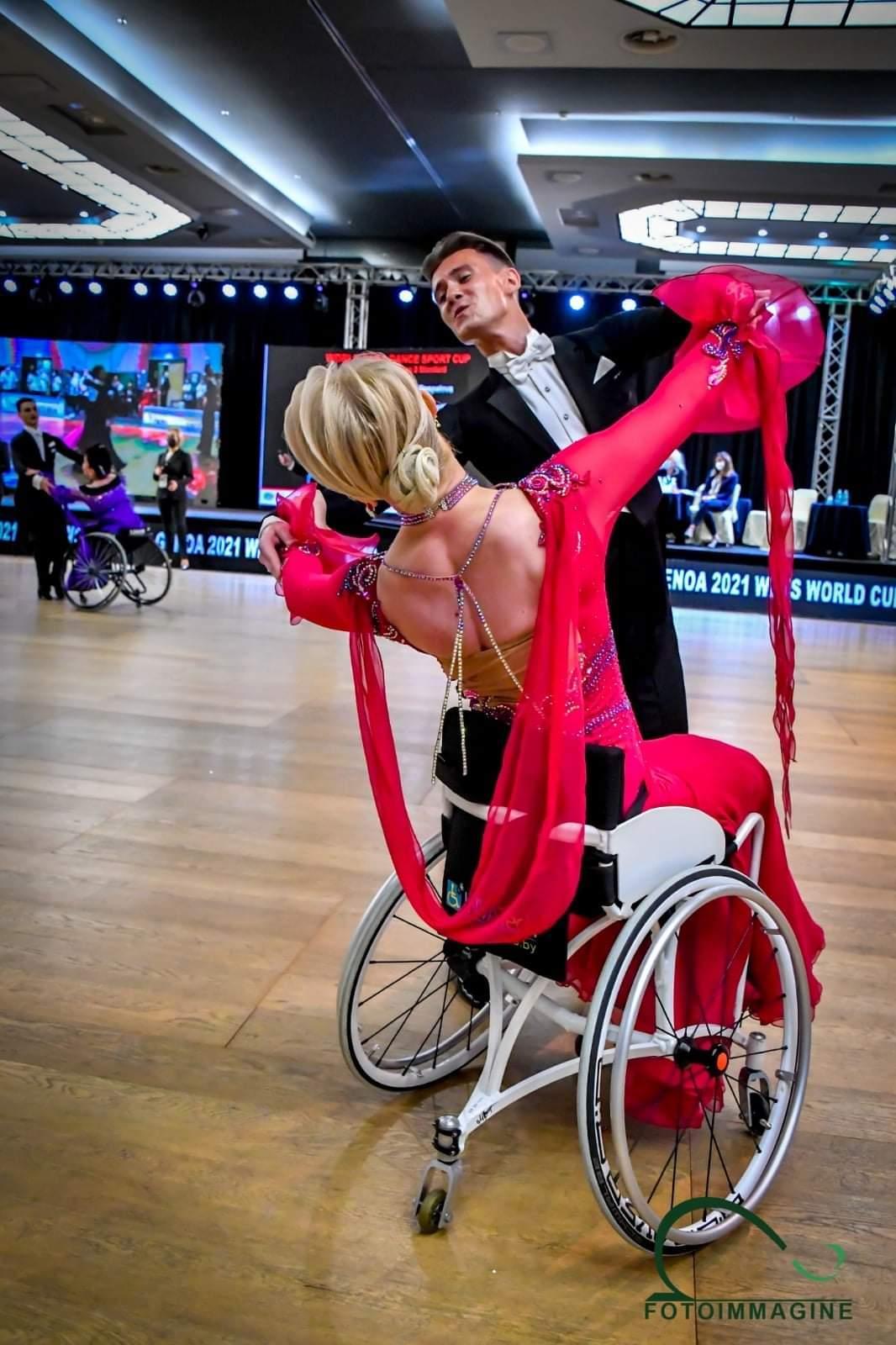 Кубок світу зі спортивних танців на візках, Генуя. фото