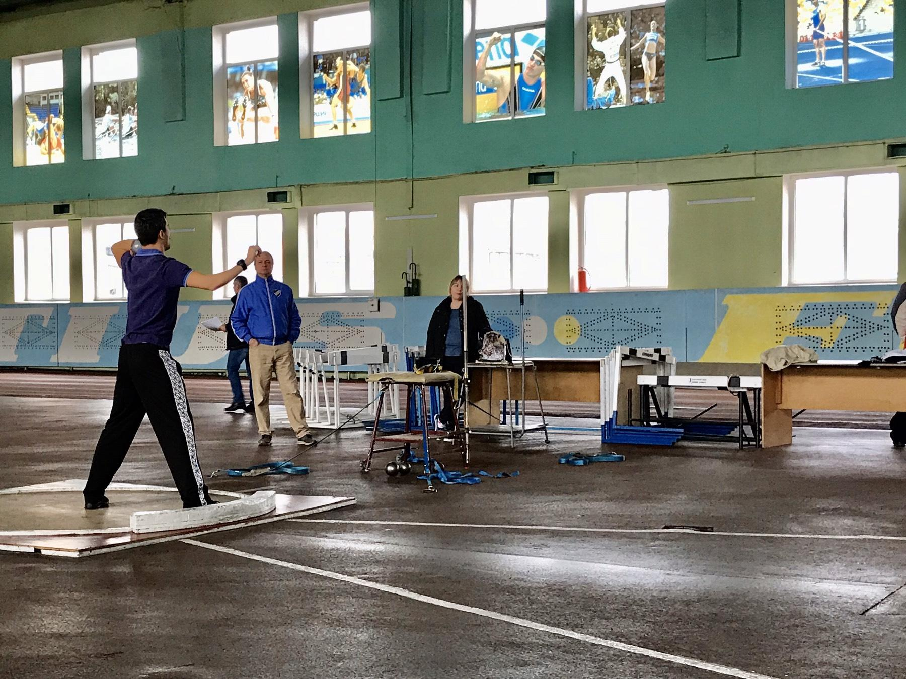 Чемпіонат Київської області з легкої атлетики, Бровари. Фото