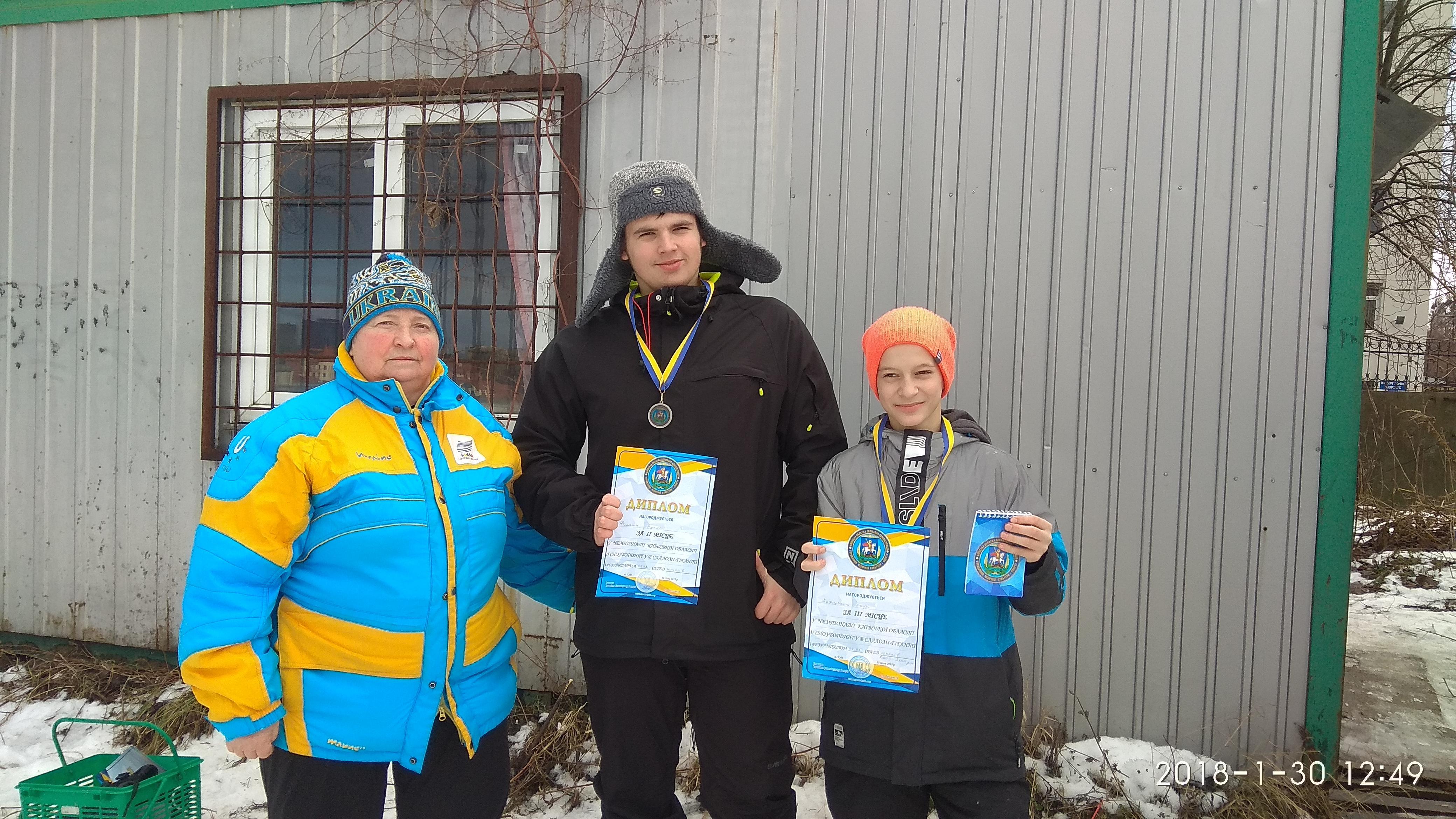 Чемпіонат Київської області зі сноубордингу. Фото