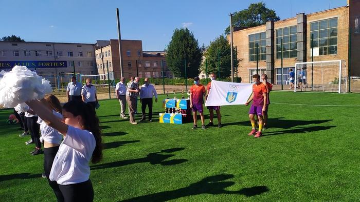 Олімпійський урок Be Active, Богуслав. Фото