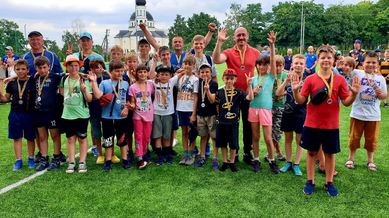 турнір з регбі імені Жеремі Бертена. фото