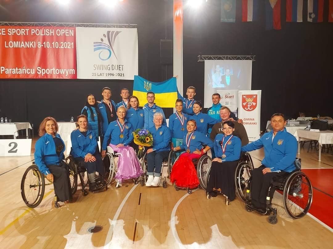 міжнародний турнір зі спортивних танців на візках, Польща. Фото