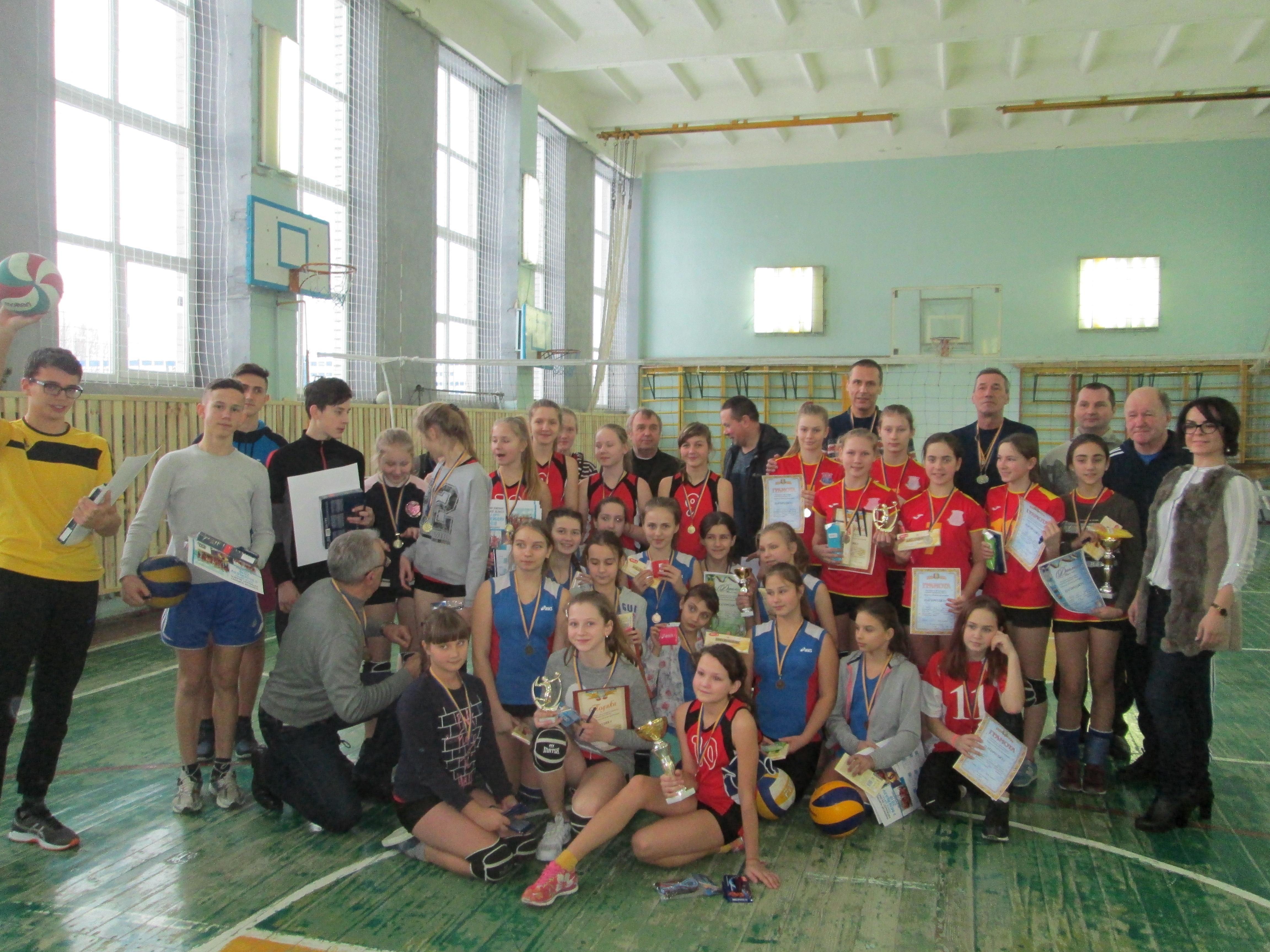 Обласний фестиваль з волейболу. Фото