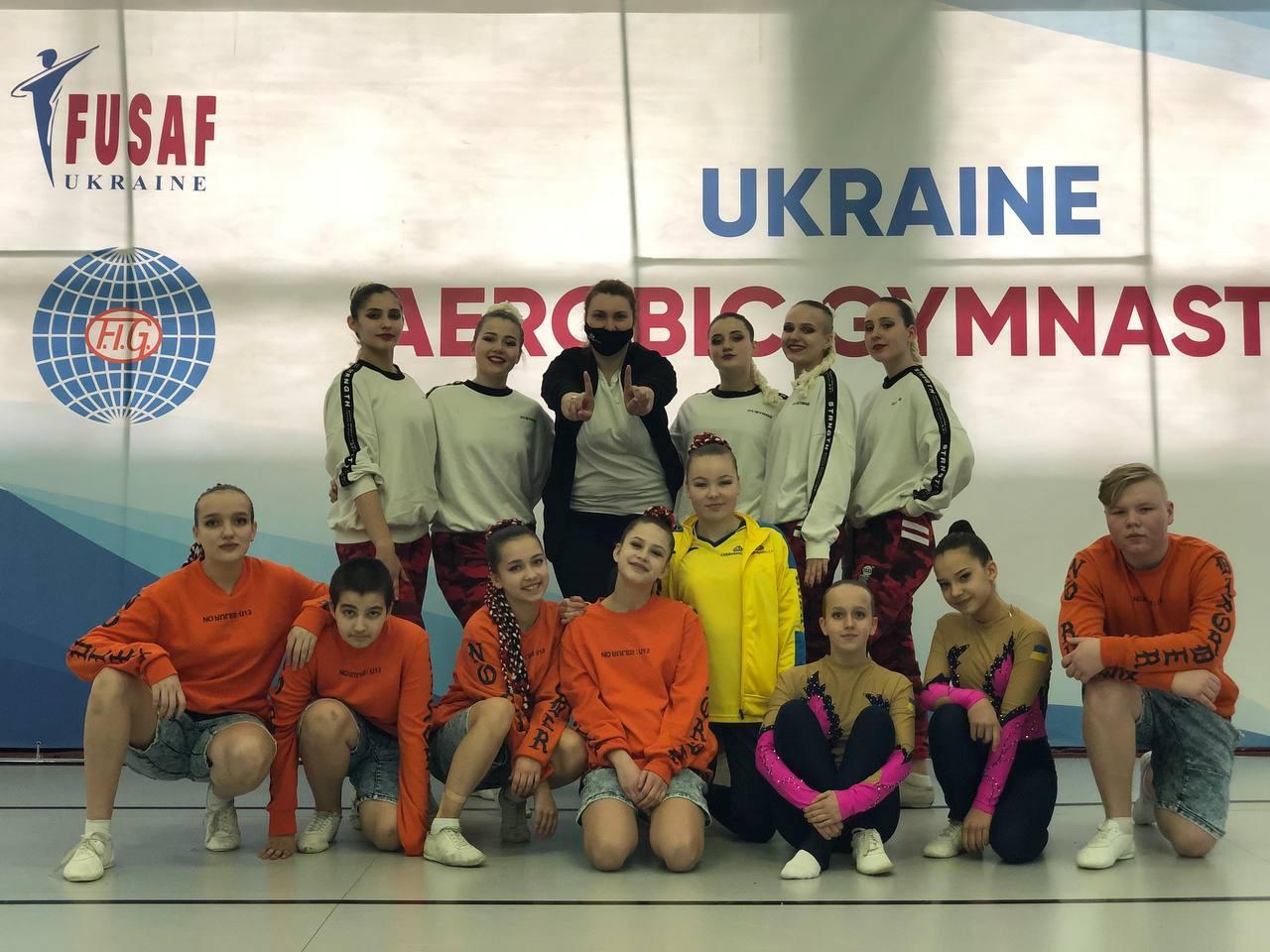 чемпіонат України зі спортивної аеробіки, Київ. фото
