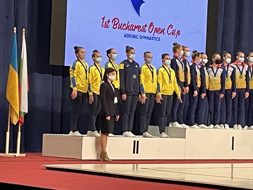 турнір зі спортивної аеробіки «1 st Bucharest Оpen Сup». фото