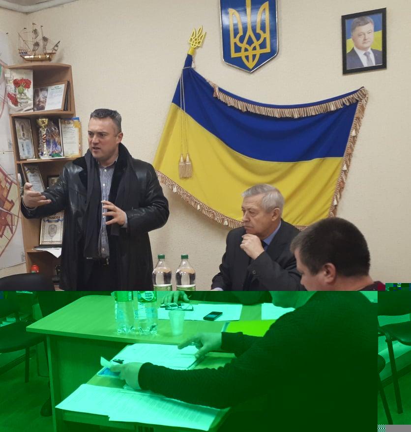 Сесія Клавдієво-Тарасівської селищної ради. Фото