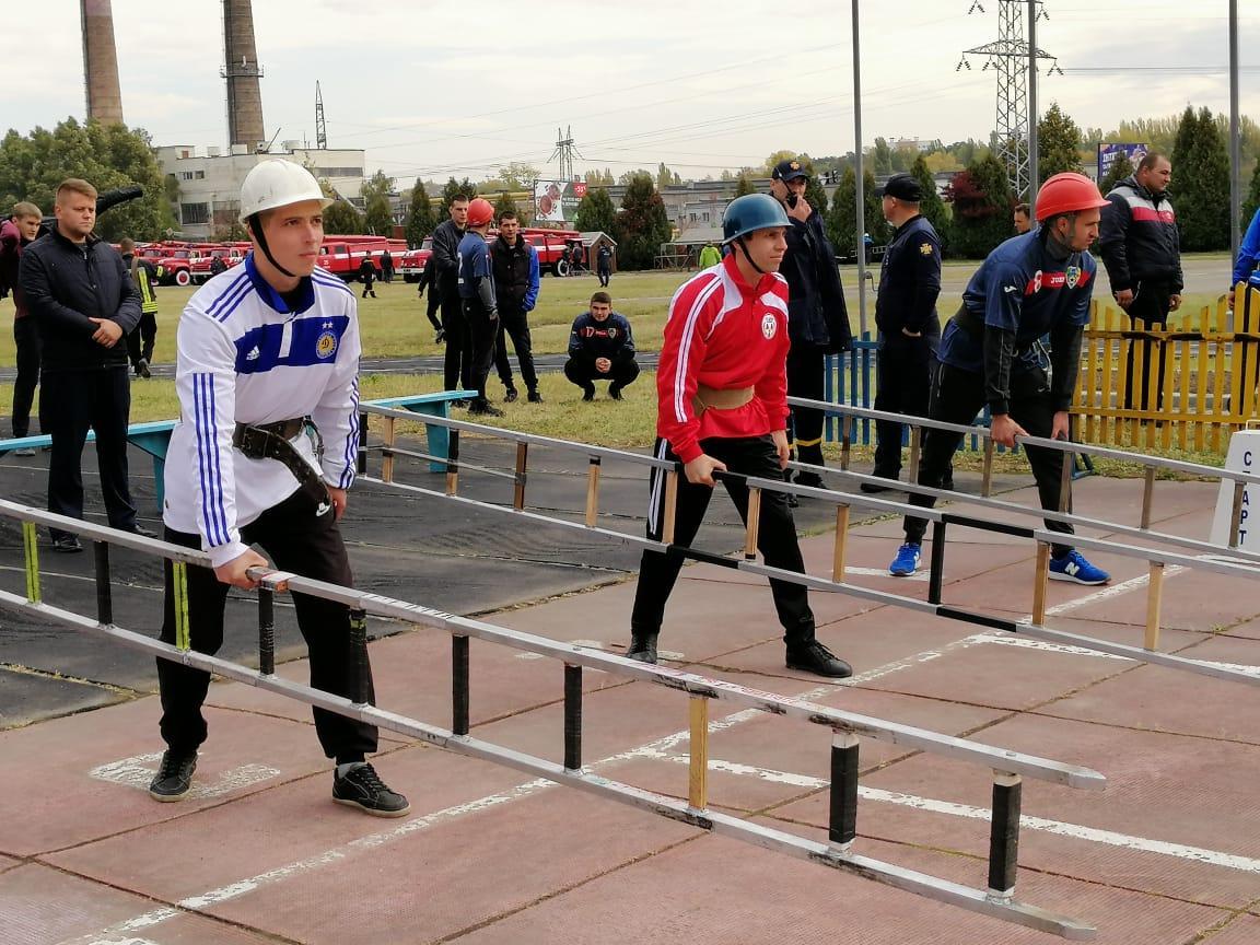 Обласні змагання із пожежно-прикладного спорту, Вишневе. Фото