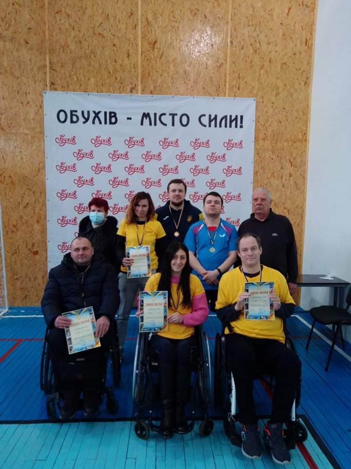 чемпіонат Київщини з настільного тенісу серед інвалідів. фото