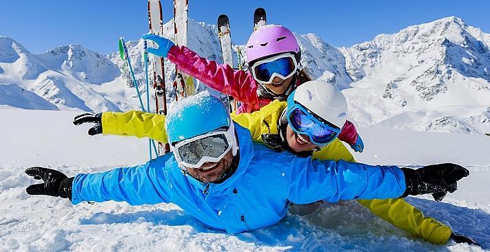 База зимових видів спорту у Вишгороді. Фото