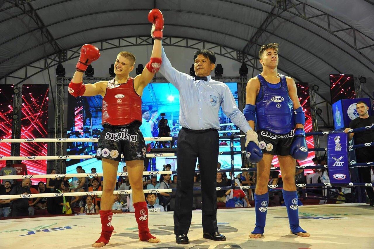 Владислав Єрьоменко, ЧЄ з таїландського боксу, Бангкок. Фото