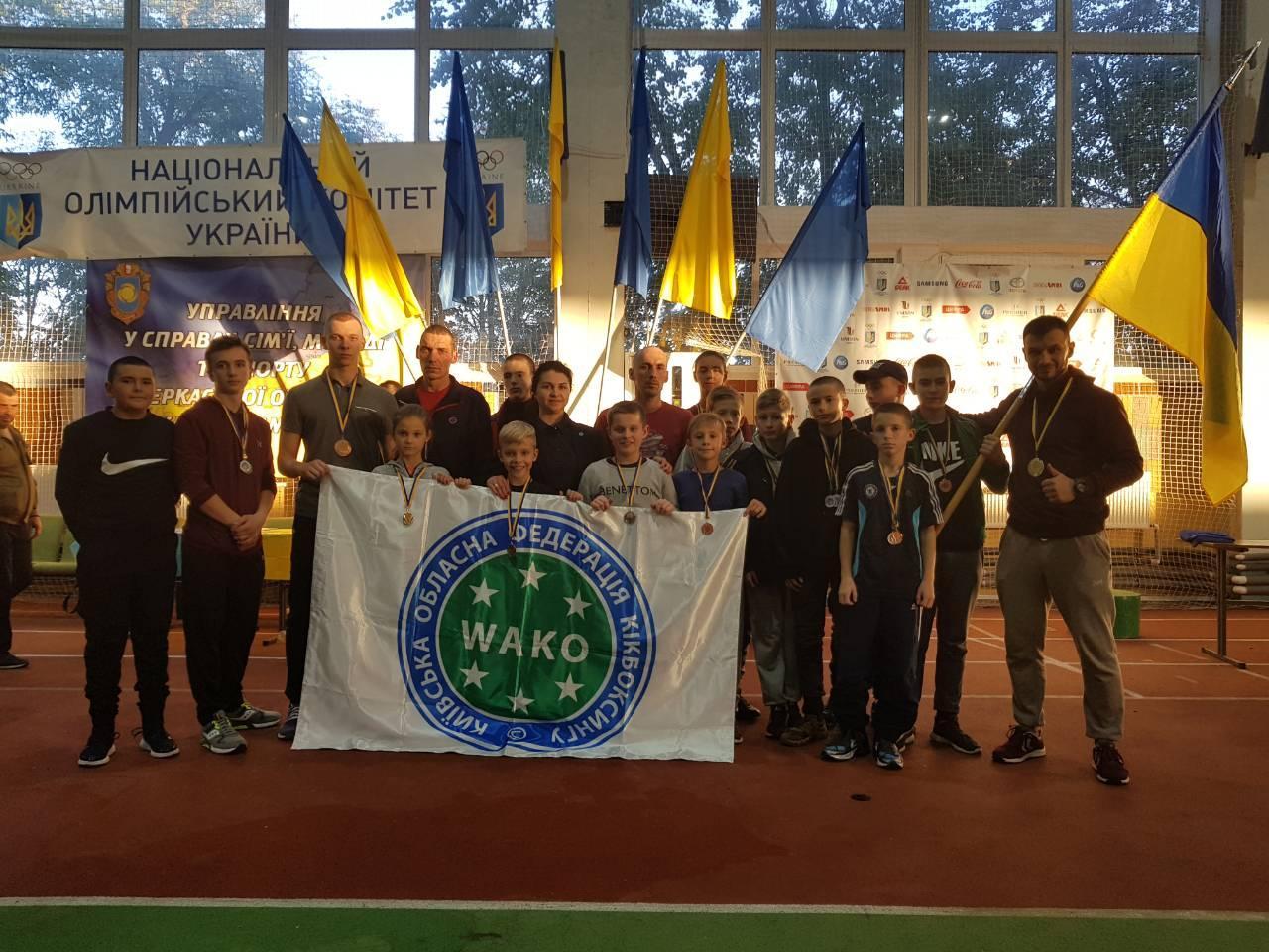 Змагання з кікбоксингу WAKO, Черкаси. Фото