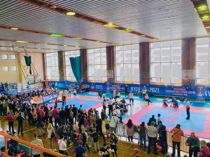 Чемпіонат України з кікбоксингу WKA, Київ. фото