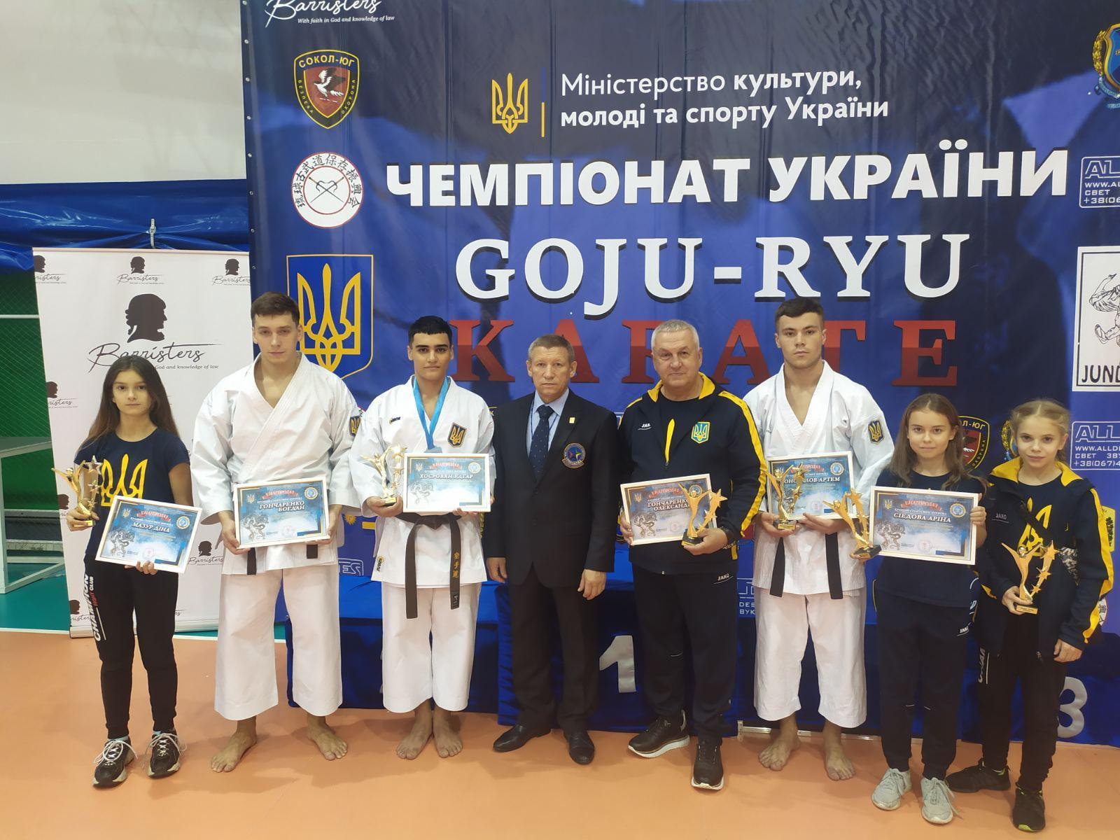 Чемпіонат України з годзю-рю карате, Одеса. Фото