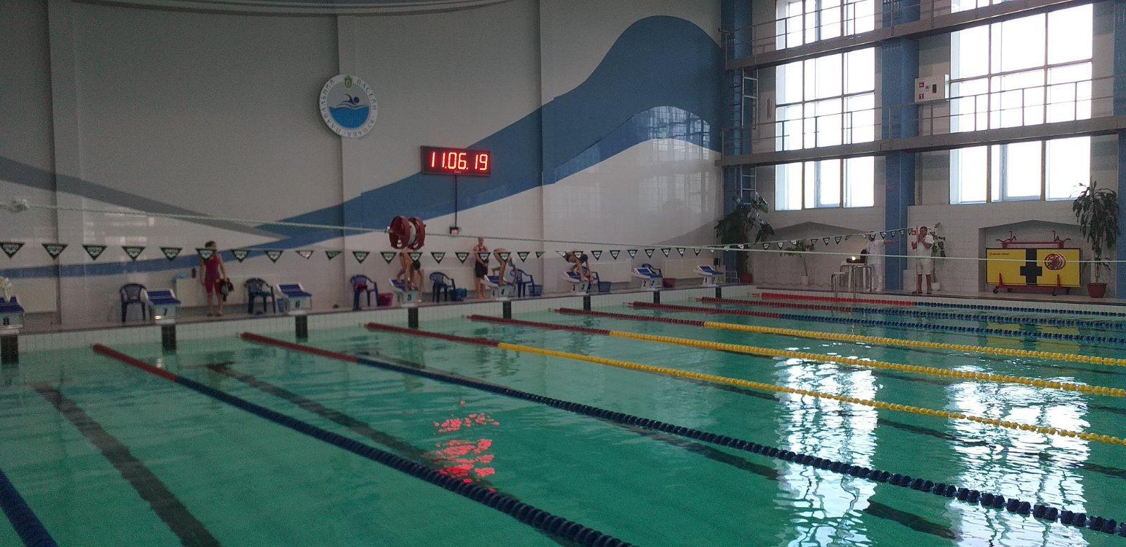 осінній чемпіонат Київської області з плавання, Бровари. фото