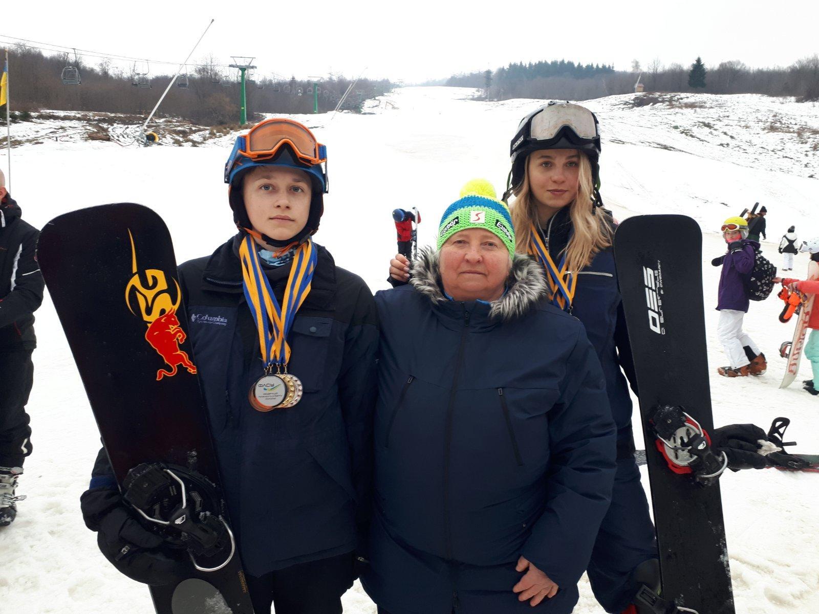 Завершення сезону-2021 зі сноубордингу. фото