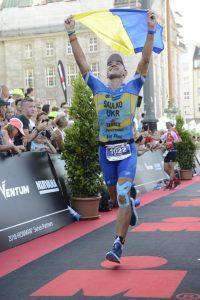 Змагання з тріатлону Ironman. Фото