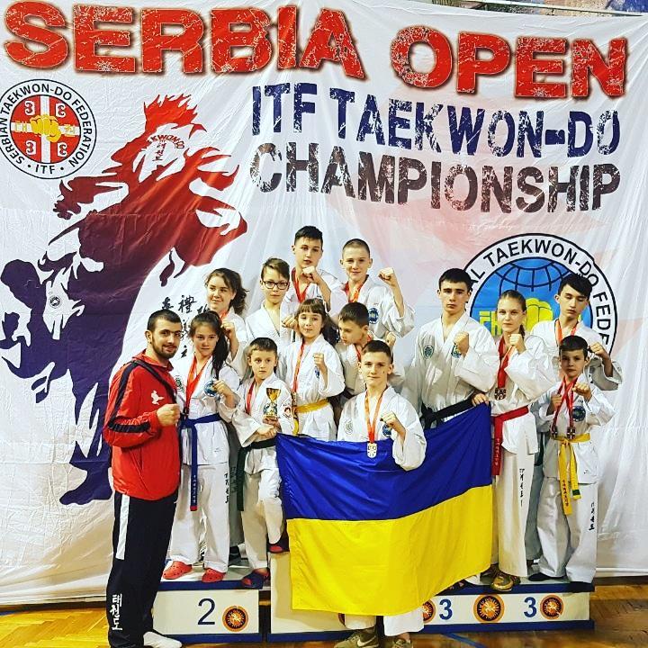 14th Serbia Open ITF Taekwondo Championship Subotica. фото