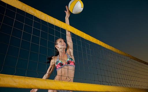 пляжний волейбол. фото