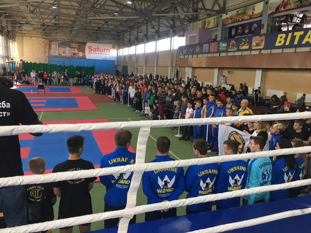 Турнір з кікбоксингу WAKO, Черкаси. Фото