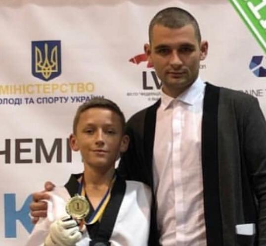 Дмитро Кравченко (тренер Олег Опришко). Фото