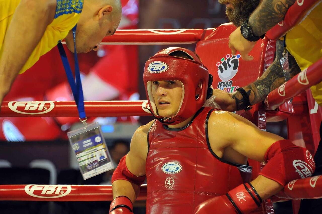 Влад Єрьоменко, ЧЄ з таїландського боксу, Бангкок. Фото