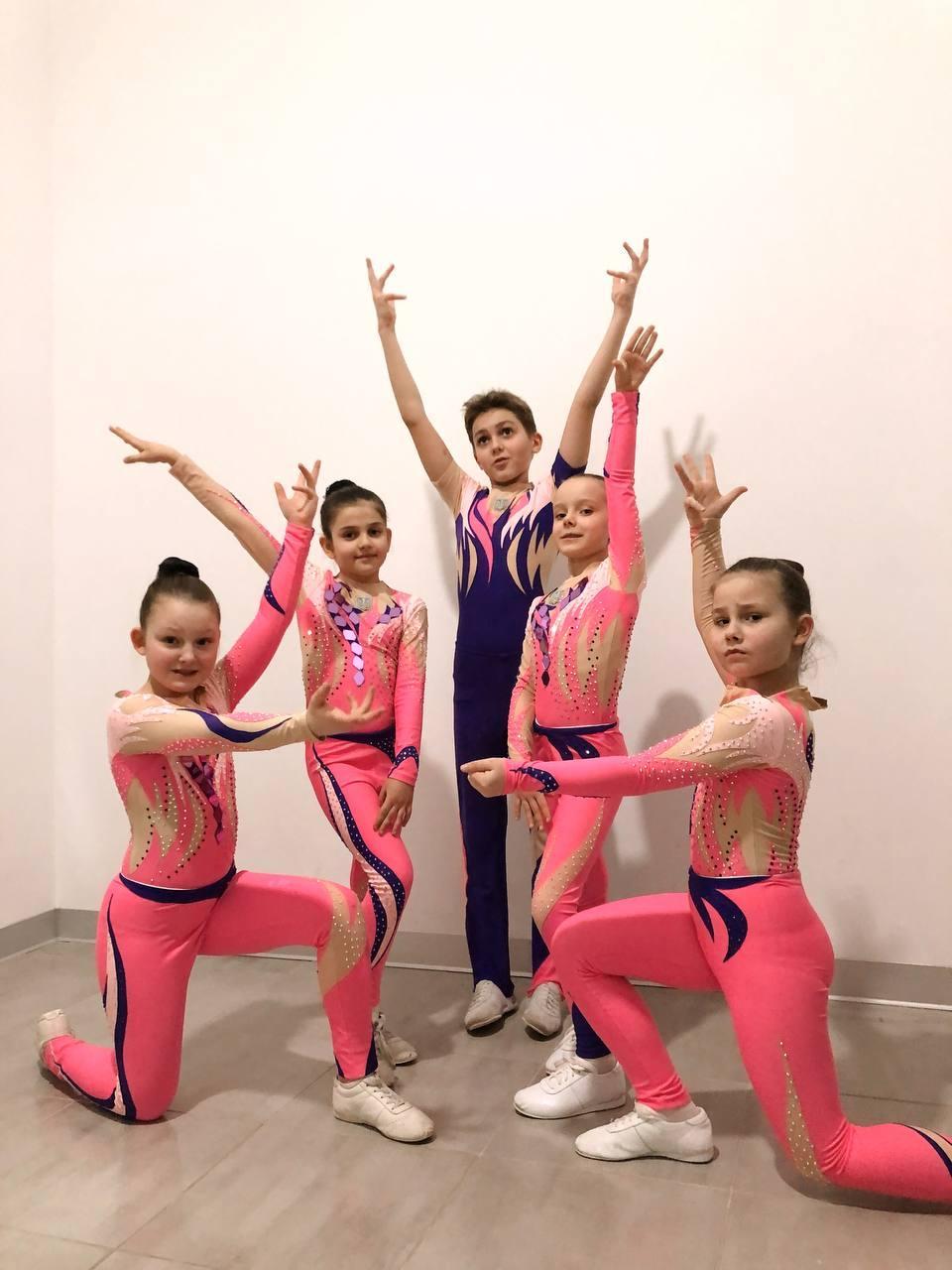 Всеукраїнський турнір зі спортивної аеробіки серед юнаків, юніорів та молоді «Кубок Корольова-2021». фото