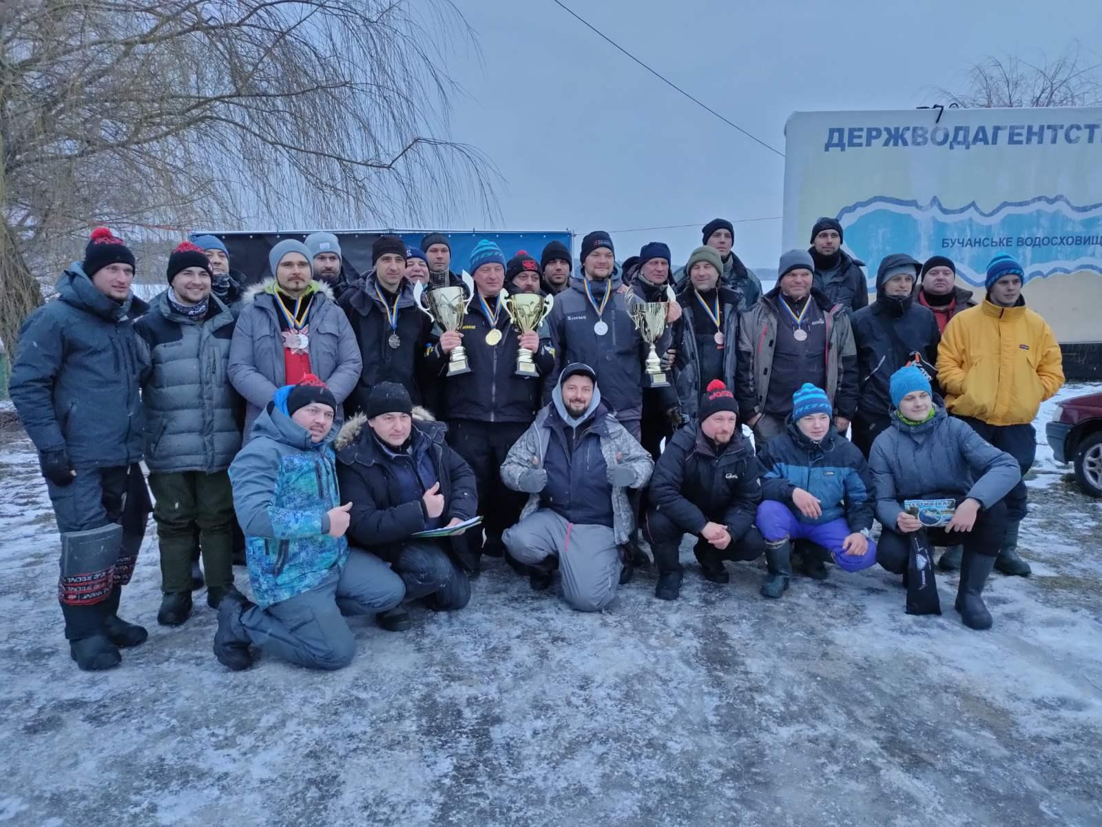 відкритий чемпіонат Київської області з лову риби на мормишку з льоду. фото