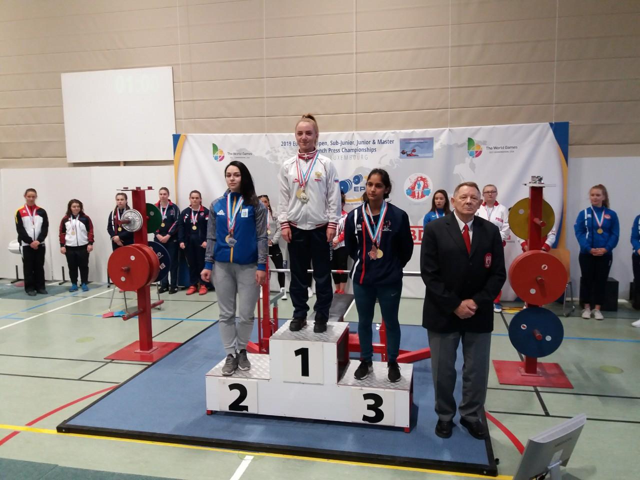 чемпіонат Європи з класичного жиму лежачи, Люксембург. Фото