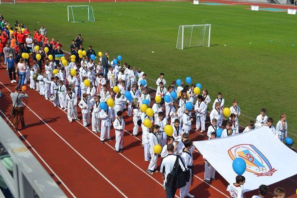 Київська обласна федерація олімпійського тхеквондо ВТФ. Фото