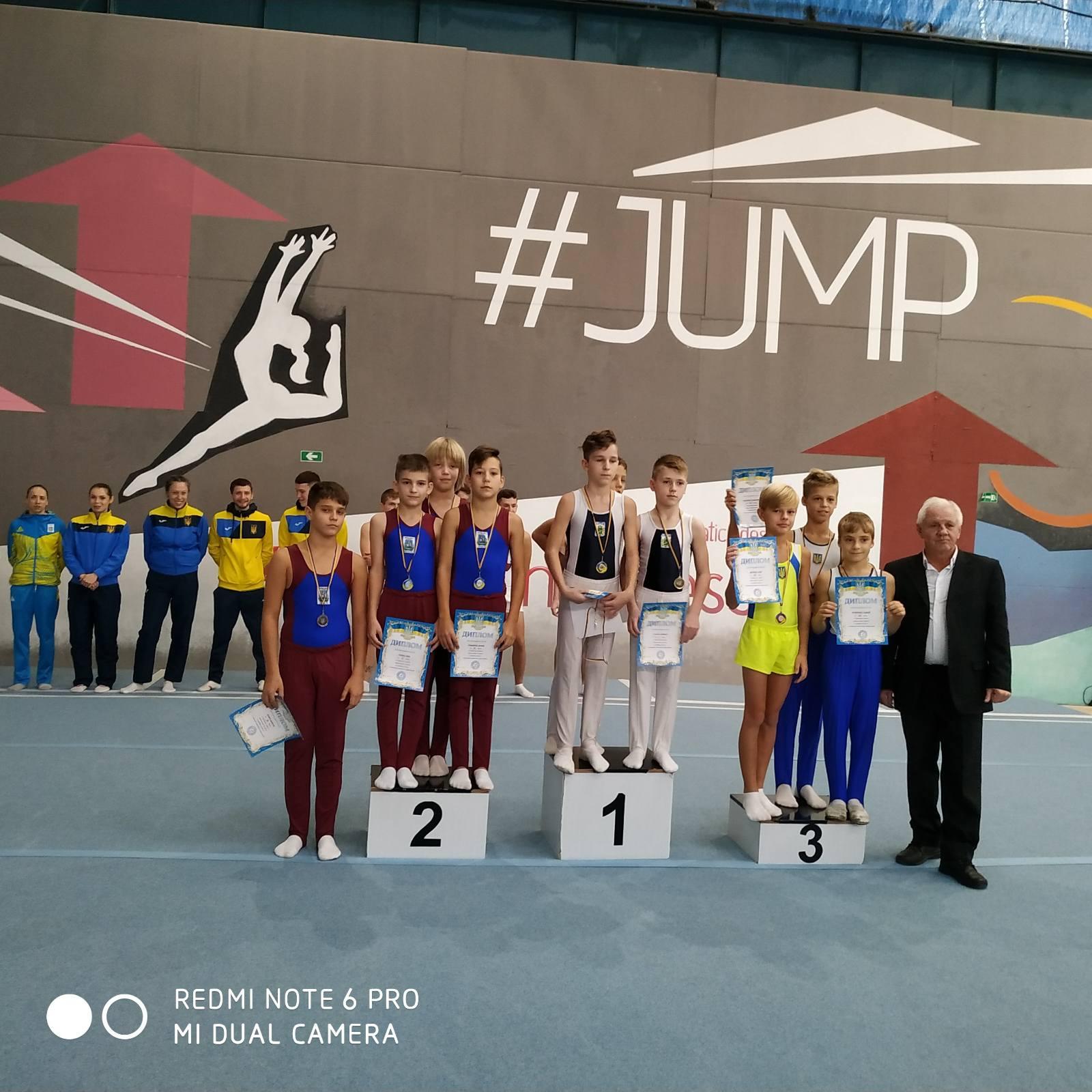 Чемпіонат України зі стрибків на батуті та відкритий Кубок України. Одеса