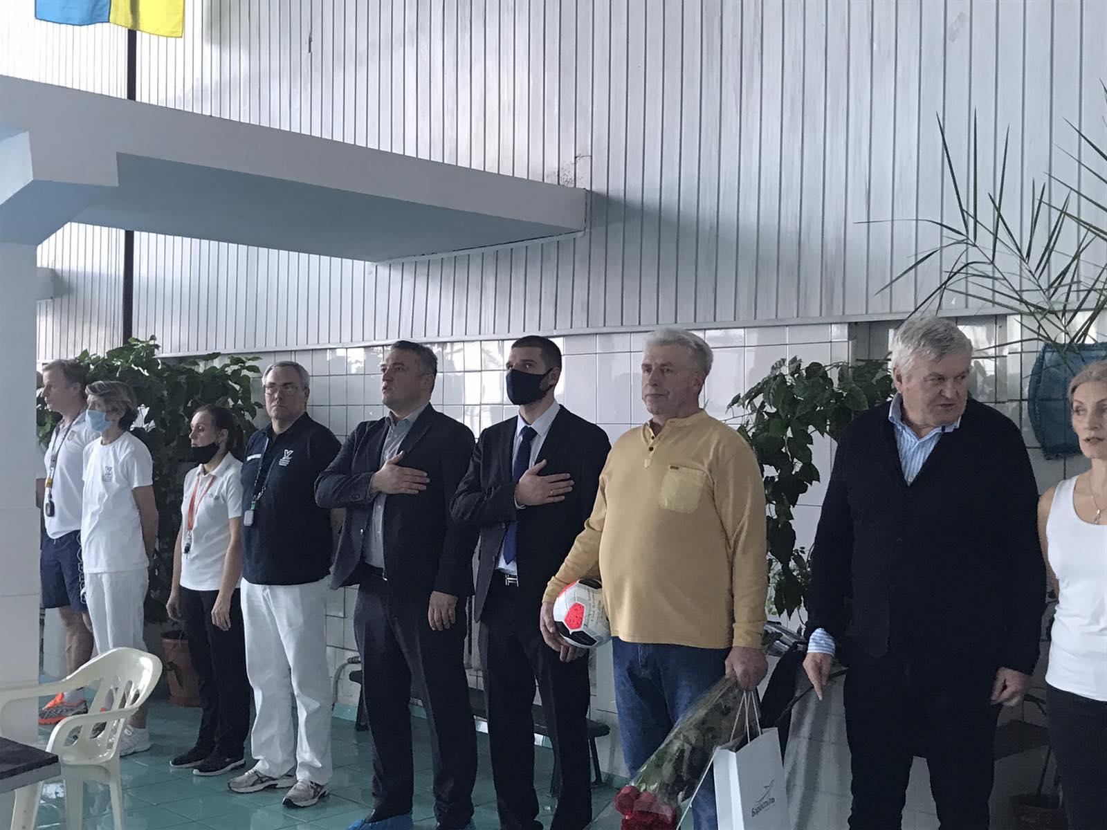 зимовий чемпіонат Київської області з плавання, Бориспіль. фото